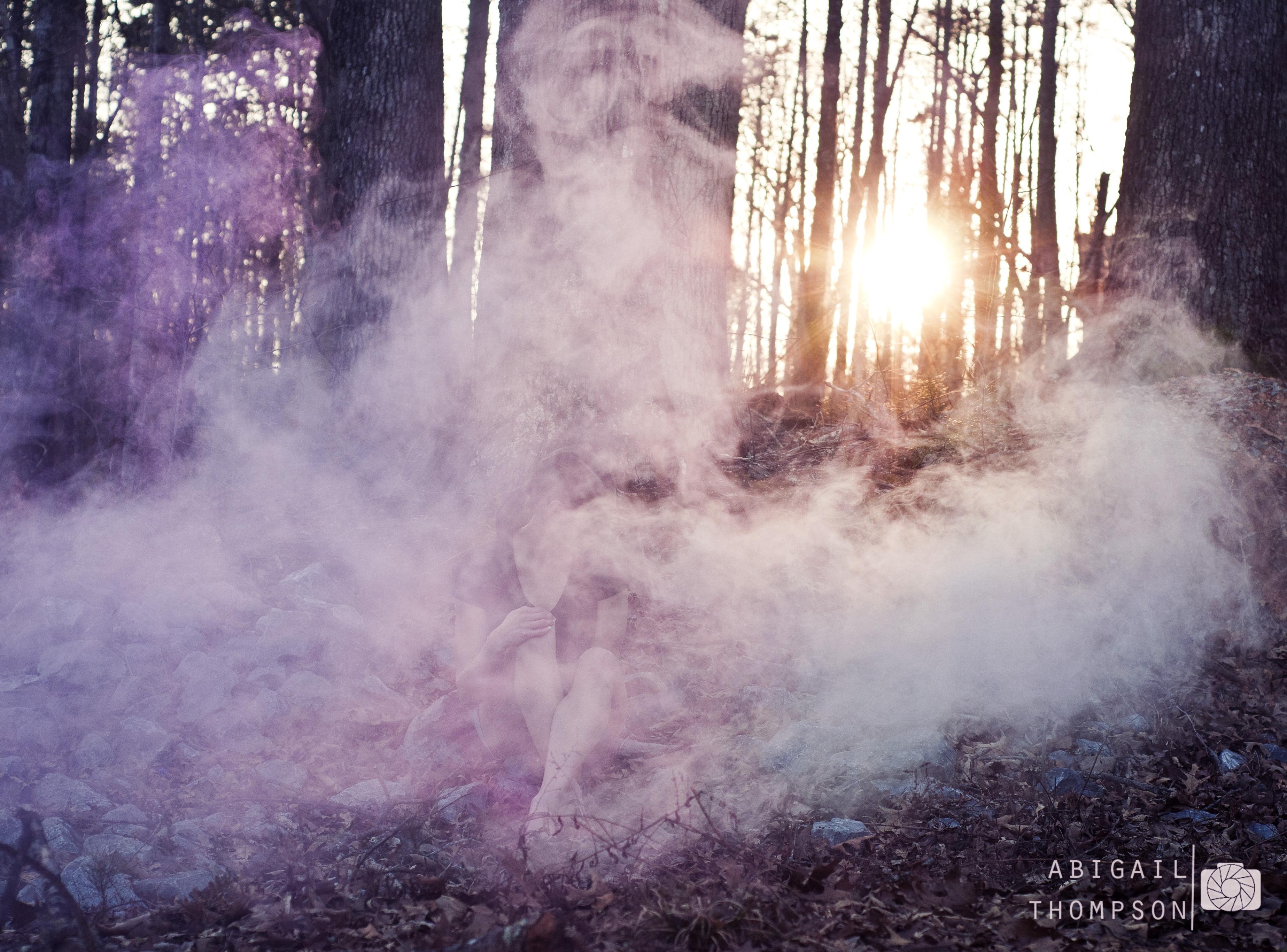 Smoke Bombs Abigail Thompson Photography